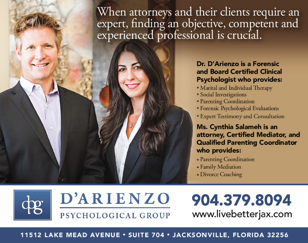 Florida Forensic Psychologist, Attorney, Parenting Coordinators, and Family Mediators